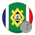 Africa Button Badges - 58mm